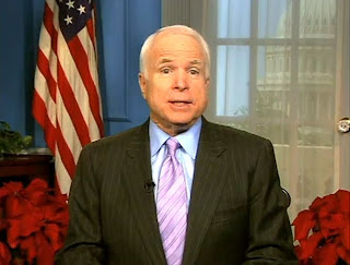 Senator John McCain Weekly Republican Address 12/19/09 VIDEO FULL TEXT TRANSCRIPT