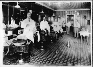 Shaving Parlor African-American Community