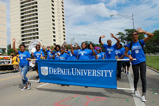 DePaul students
