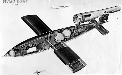 V-1 Flying Bomb Fieseler Fi 103 Buzz Bomb