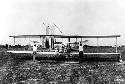 The Wright brothers and Plane