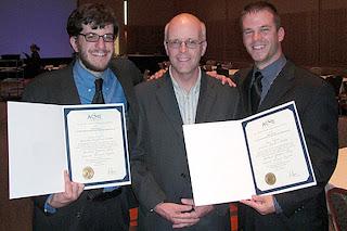 (l-r) Jaron Kuppers, Dan Walczyk, and Casey Hoffman