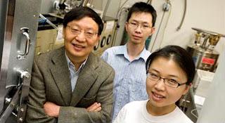Rui-Rui Du, graduate students Chi Zhang and Yanhua Dai
