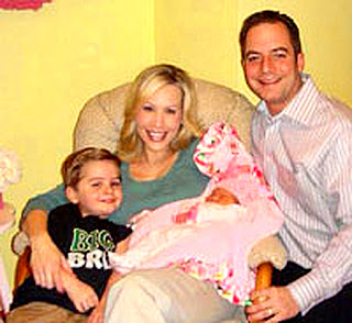 Reince_Priebus wife Sally, son Jack and baby girl Grace Avalyn