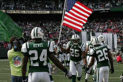 New York Jets game against the Jacksonville Jaguars