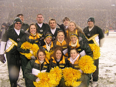 Green Bay Packers cheerleaders