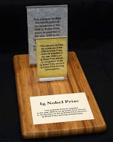 Ig Nobel prize