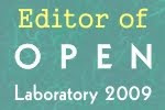 Editor of Open Lab 2009