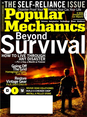 October 2009 issue of Popular Mechnanics