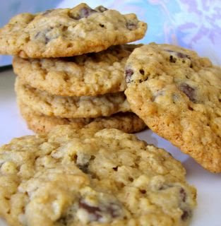 Oatmeal Chocolate Chip Cookies. My personal favorite, and the funnest ...