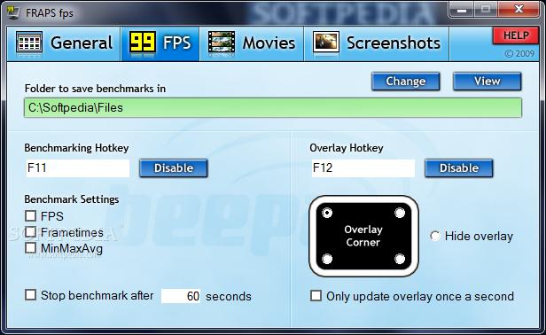Download Fraps 3.5.99 Build 15618 Full Version