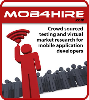 Mob4Hire Crowd Sourced Mobile Application Testing
