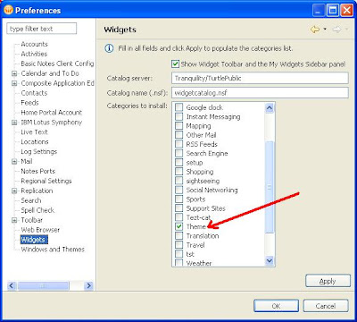 Lotus Notes New Themes For Lotus Notes 8