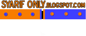 SyariF_oNLy BLOg
