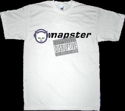 disruptive DTTCTWWK napster p2p t-shirt ephemeral-t-shirts
