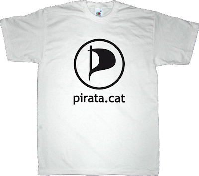 pirat partiet partit pirata de catalunya catalan catalonia t-shirt ephemeral-t-shirts