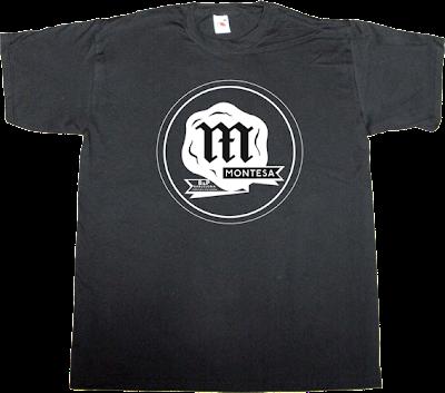 montesa vintage Motorcycle Bikes t-shirt ephemeral-t-shirts