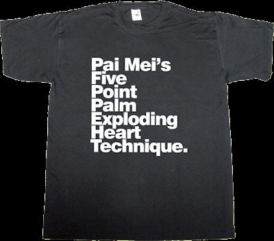kill bill movie helvetica t-shirt ephemeral-t-shirts