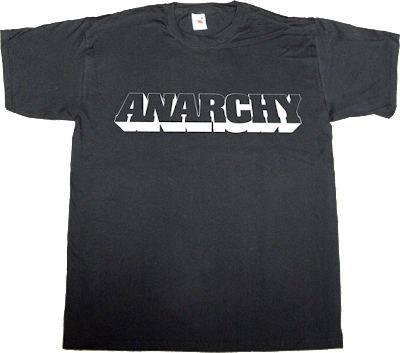 Anarchy wikileaks Julian Assange t-shirt ephemeral-t-shirts
