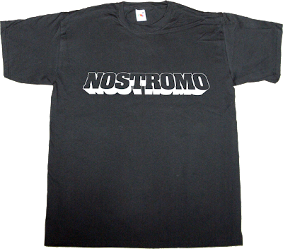 Nostromo alien Sigourney Weaver movie t-shirt ephemeralt-t-shirts