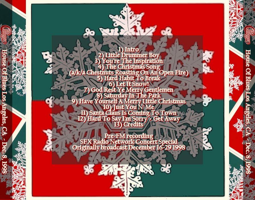 Arizona Jones: Chicago Christmas Show, 12-08-1998 (Pre-FM)