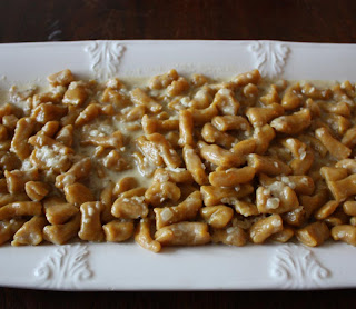 Pumpkin Gnocchi with Alfredo Sauce