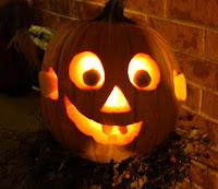 A Happy Jack-o-Lantern