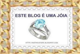 """Premio """"ESTE BLOG É UNA JÓIA"""""""