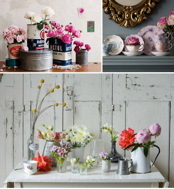 An around the house lovely arranging wild flowers at