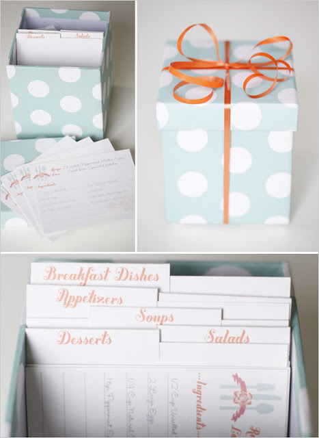 Recipes bridal shower