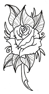 The Beautiful Tribal Rose Tattoo Designs | DESIGNS TATTOO