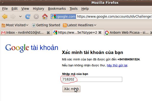 Đăng ký tạo lập Gmail Free bằng tiếng việt hỗi trợ hình ảnh chi tiết
