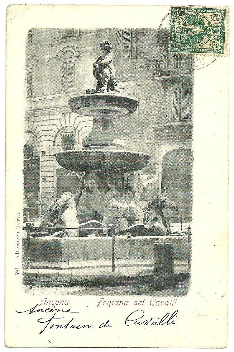Italian handwritten postcard letter stock photo image 39254147 - Berghinz