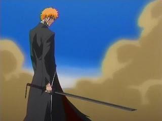bleach zanpakutou kurosaki ichigo bankai sword replica tensa zangetsu