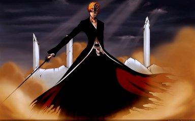 bleach zanpakutou kurosaki ichigo bankai sword replica hollow transformation tensa zangetsu