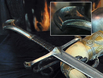 lord of the rings anduril sword of aragorn