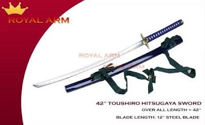 cosplay wooden bleach zanpakutou toshiro hitsugaya sword replica hyourinmaru royalarm