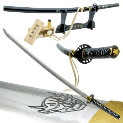 functional kill bill demon sword hattori hanzo sword replica hanzo steel