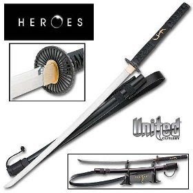 Heroes Takezo Kensei Sword Replica United Cutlery
