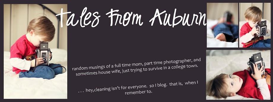 Tales from Auburn