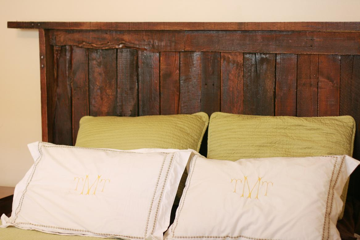 Pallet Wood Headboard Update!. Full resolution‎  picture, nominally Width 1167 Height 778 pixels, picture with #967635.