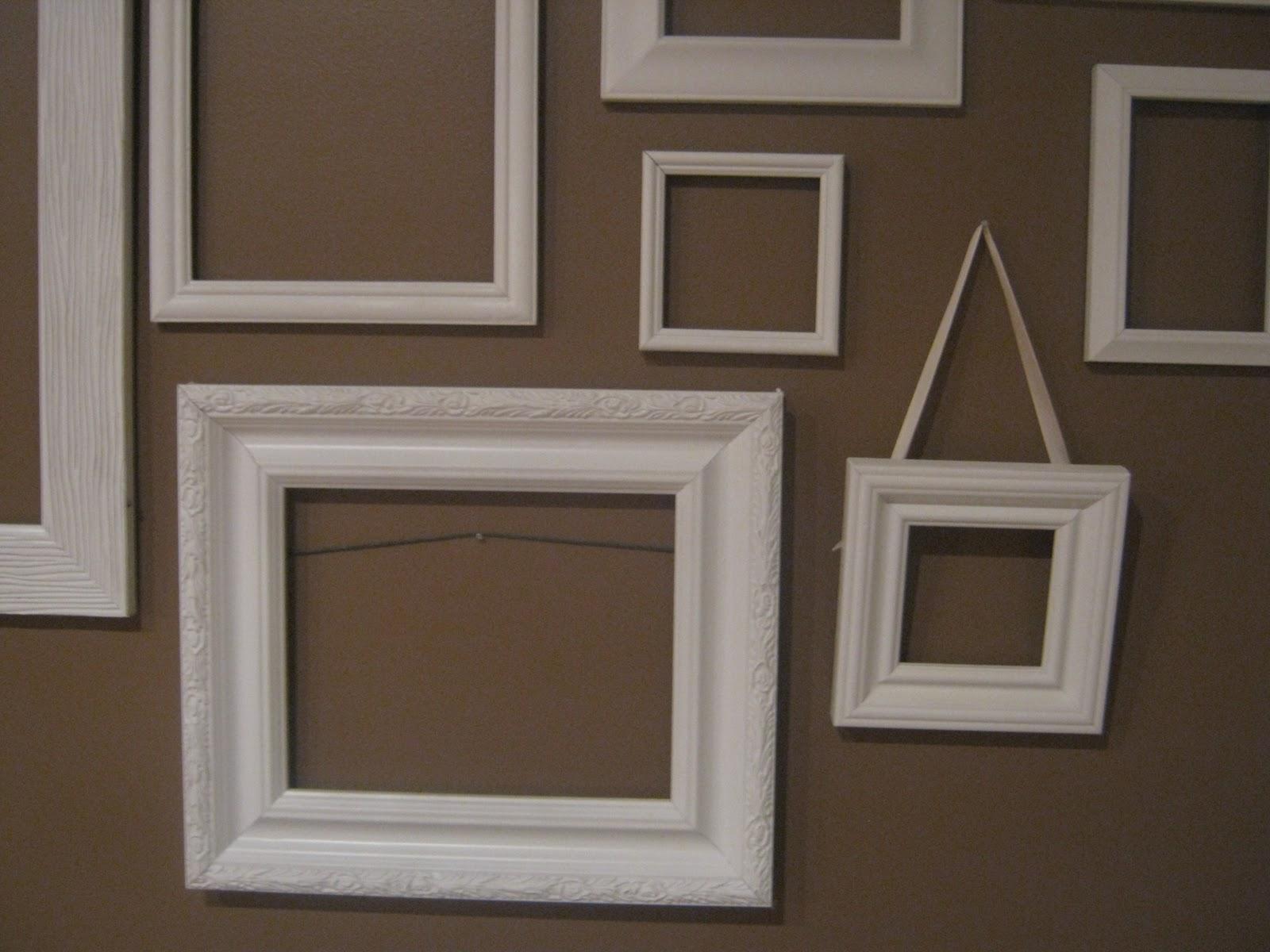 Dwelling & Telling DIY Empty Frame Collage
