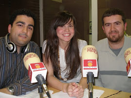 En el estudio de Cadena Radio