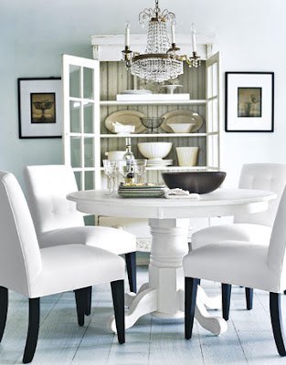 Pure Style Home: The Classic Pedestal Table