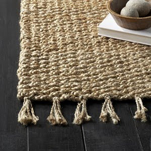 how to clean a dirty jute rug