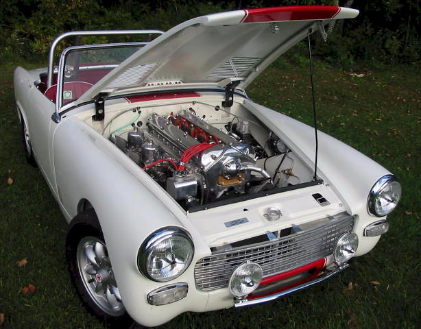 Amateur zetec powered mg midget children Han
