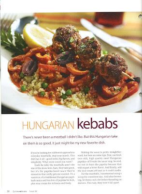 hungarian meatballs with creamy paprikash sauce