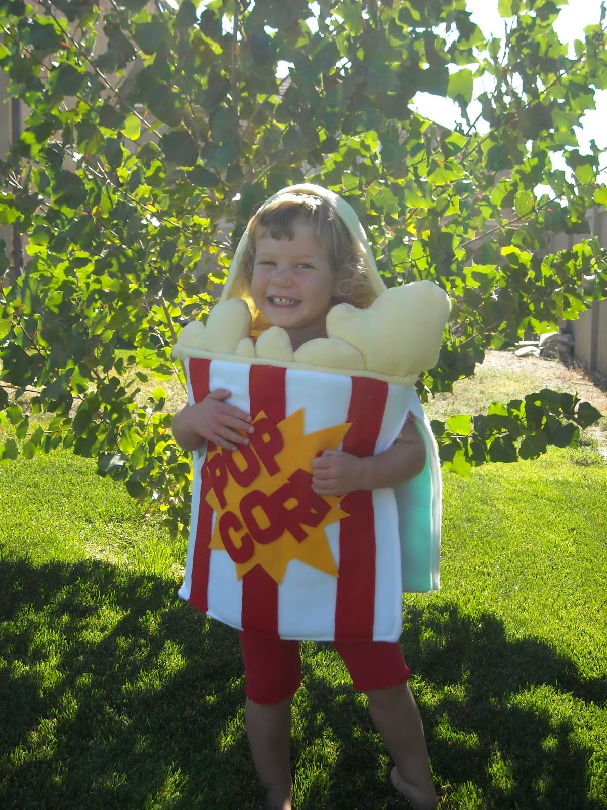 popcorn costume