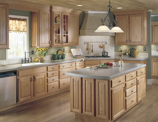 Image result for wood kitchen cabinets pinterest