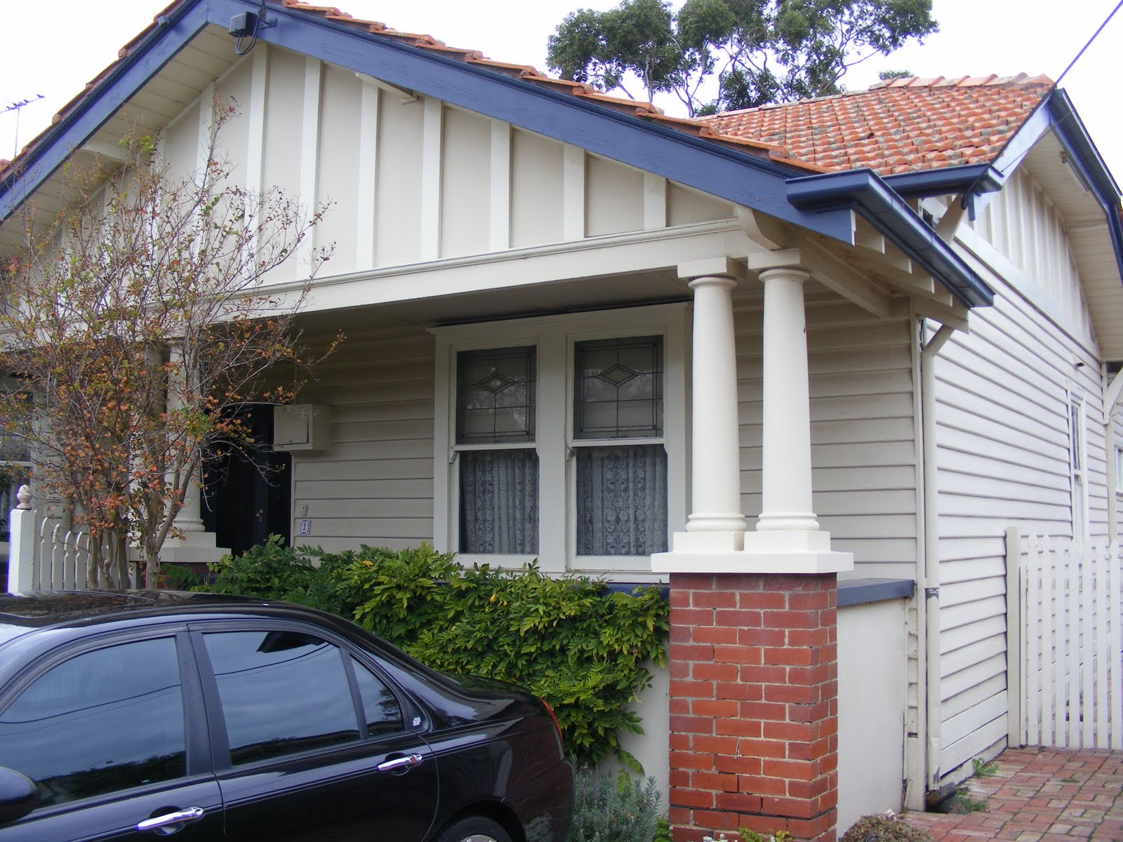 Trentham tales the state bank californian bungalow and for California bungalow house